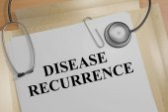 Opakování onemocnění -lékařský koncept