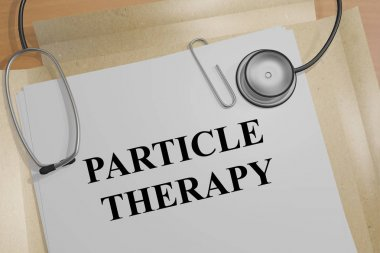 Particle Therapy - medical concept