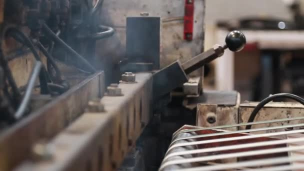 Shot z průmyslových strojů tepelné řezání