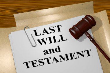 Last Will and Testament - legal concept
