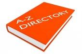 Fotografia Concetto di Directory A-Z