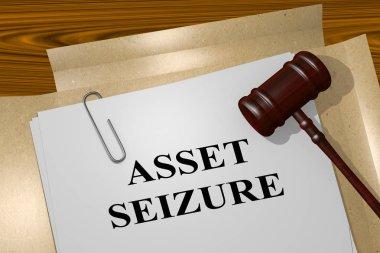 Asset Seizure concept