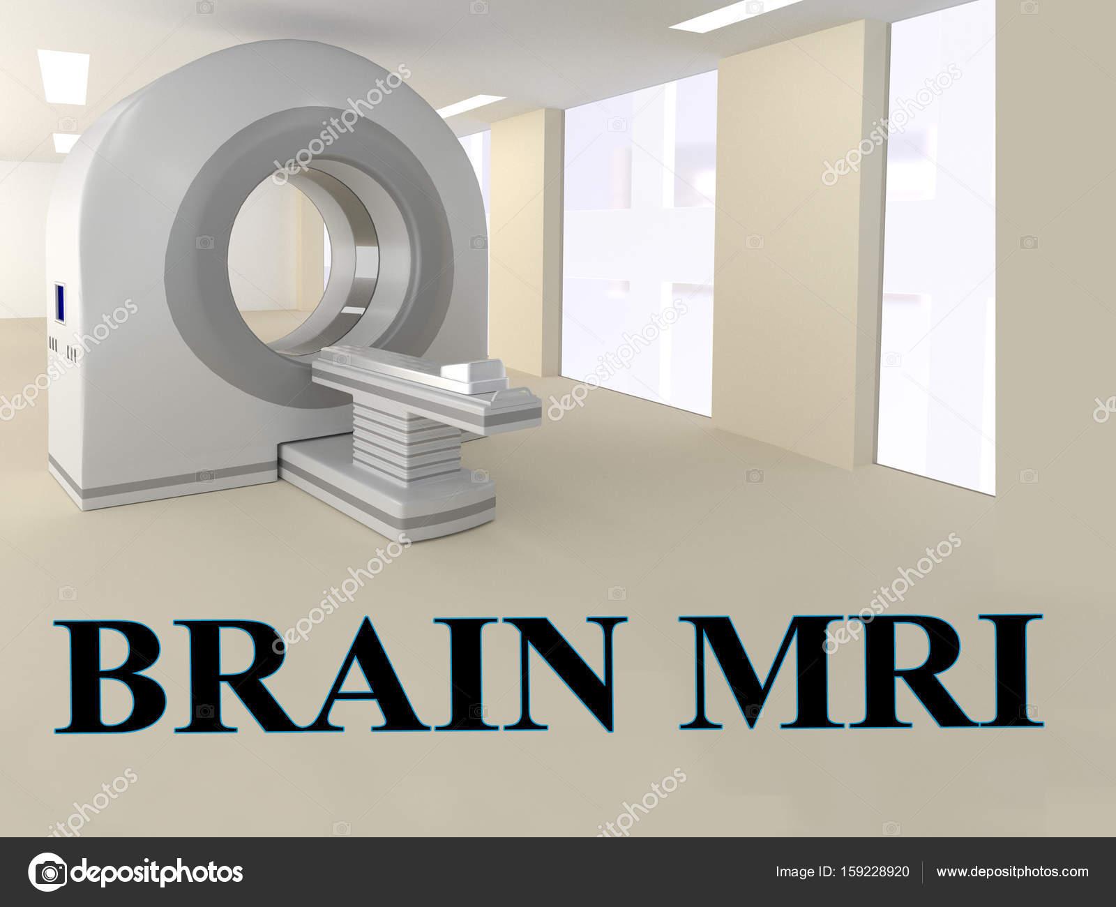 Gehirn-MRT-Konzept — Stockfoto © Premium_shots #159228920