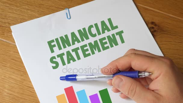 Financialn Statement Report