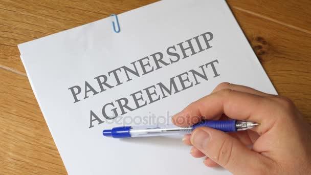 Partnership Agreement Concept