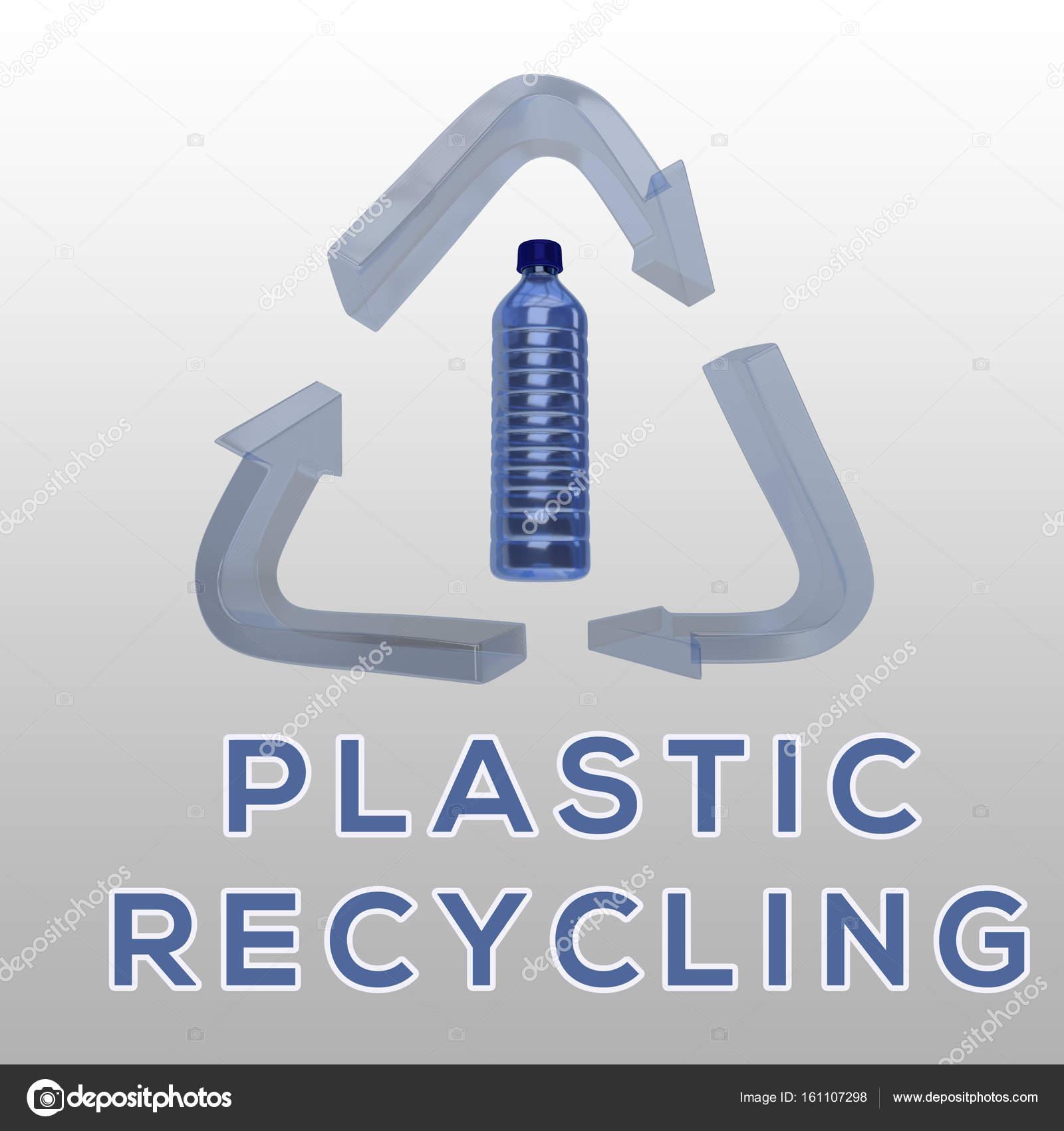 Plastic Recycling concept — Stock Photo © Premium_shots #161107298