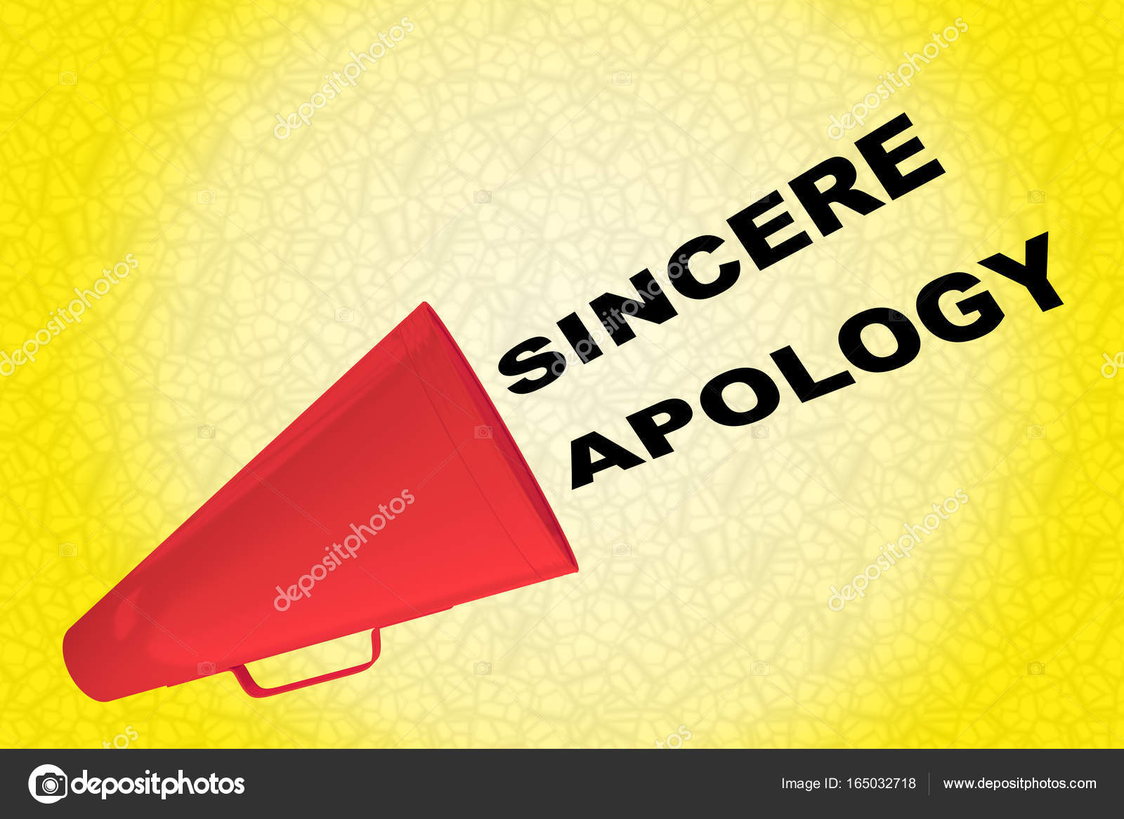 sincere apology text