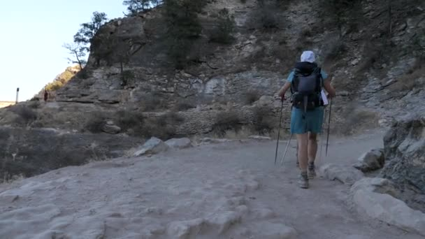 Hikers on Bright Angels route Grand Canyon