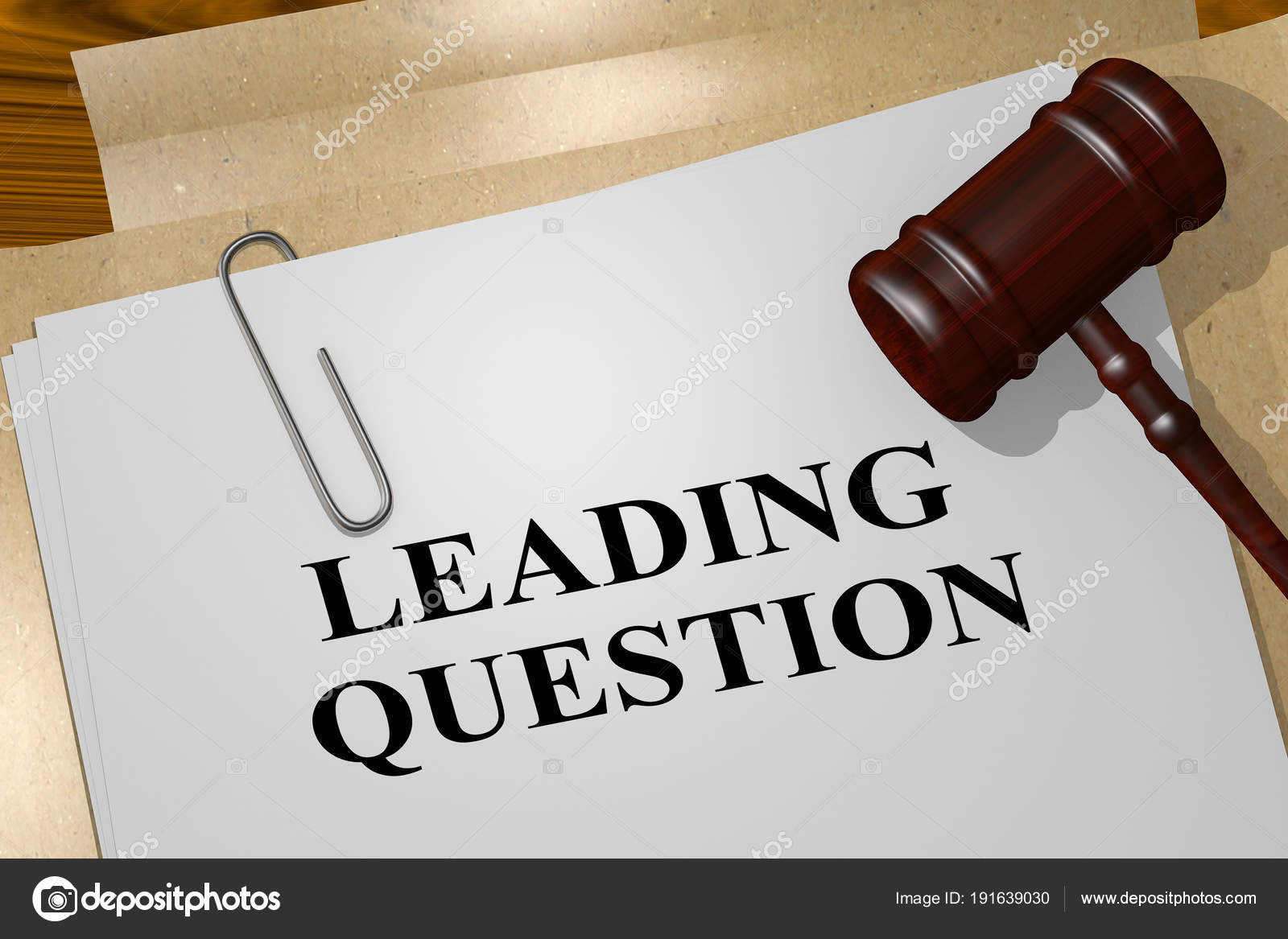 what is a leading question