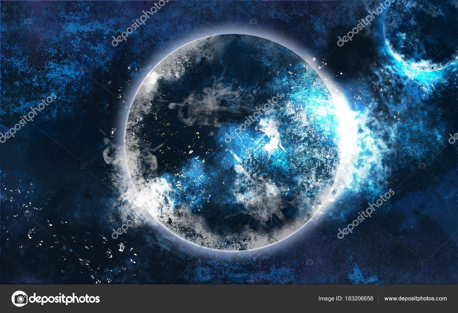 Uzay Arka Plan Planet Galaksi Uzay Stok Foto Vitalinag 183206658