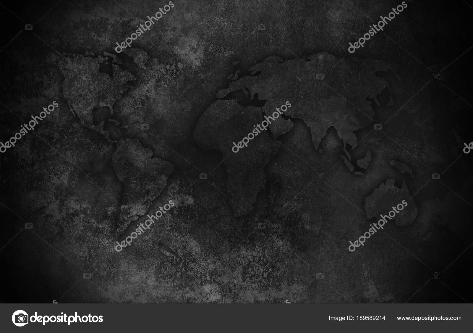 Silhouette world map dark background art stock photo vitalinag silhouette world map dark background art stock photo gumiabroncs Choice Image