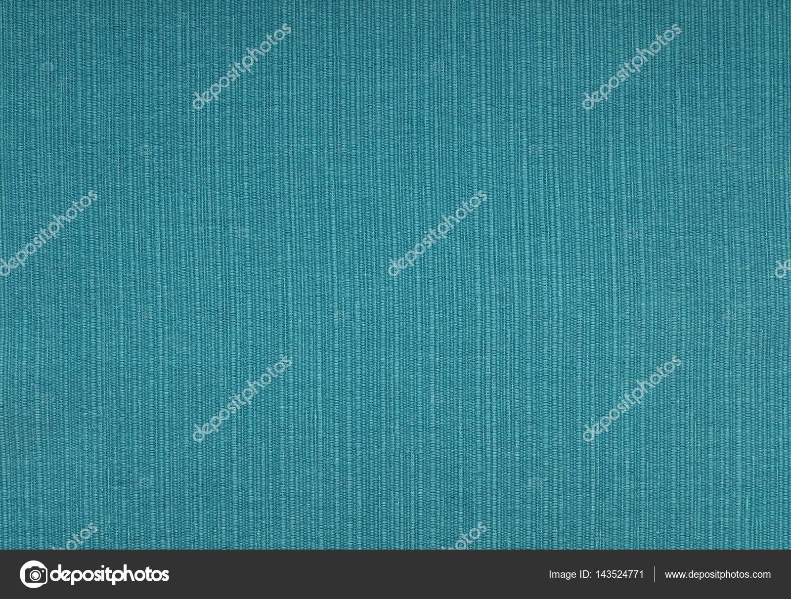 Sfondo Blu Turchese Grossolana Del Tessuto Foto Stock Sarahdoow