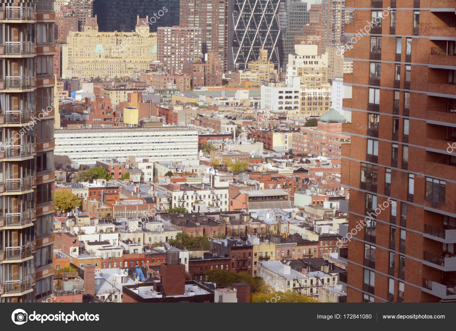 Paisaje de la cocina del infierno en Nueva York — Fotos de Stock ...