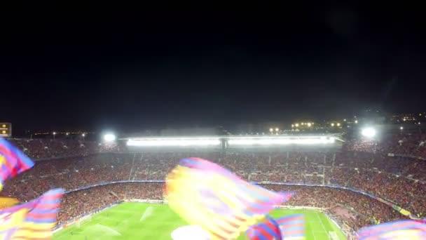 videa na stadionu