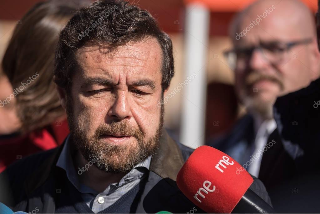 MADRID, SPAIN - NOVEMBER 13: Miguel Gutierrez, congresist from ciudadanos, spanish politic group douring a meeting on November 13, 2016 in Madrid, Spain.