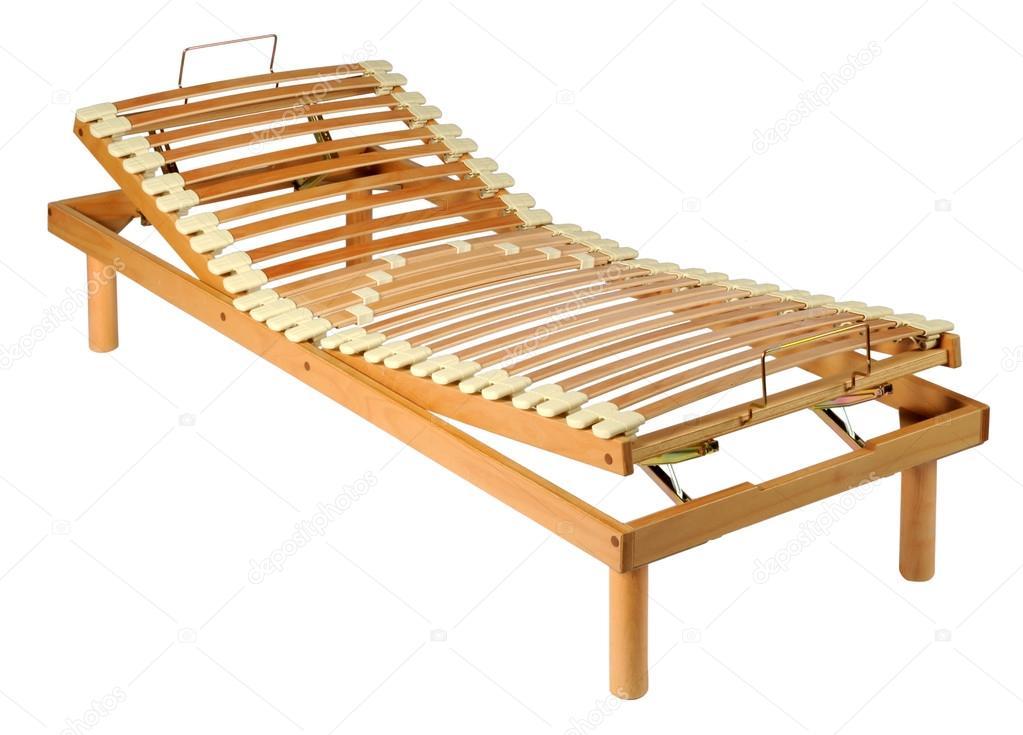 Red madera ortopédico en un marco ajustable — Fotos de Stock ...