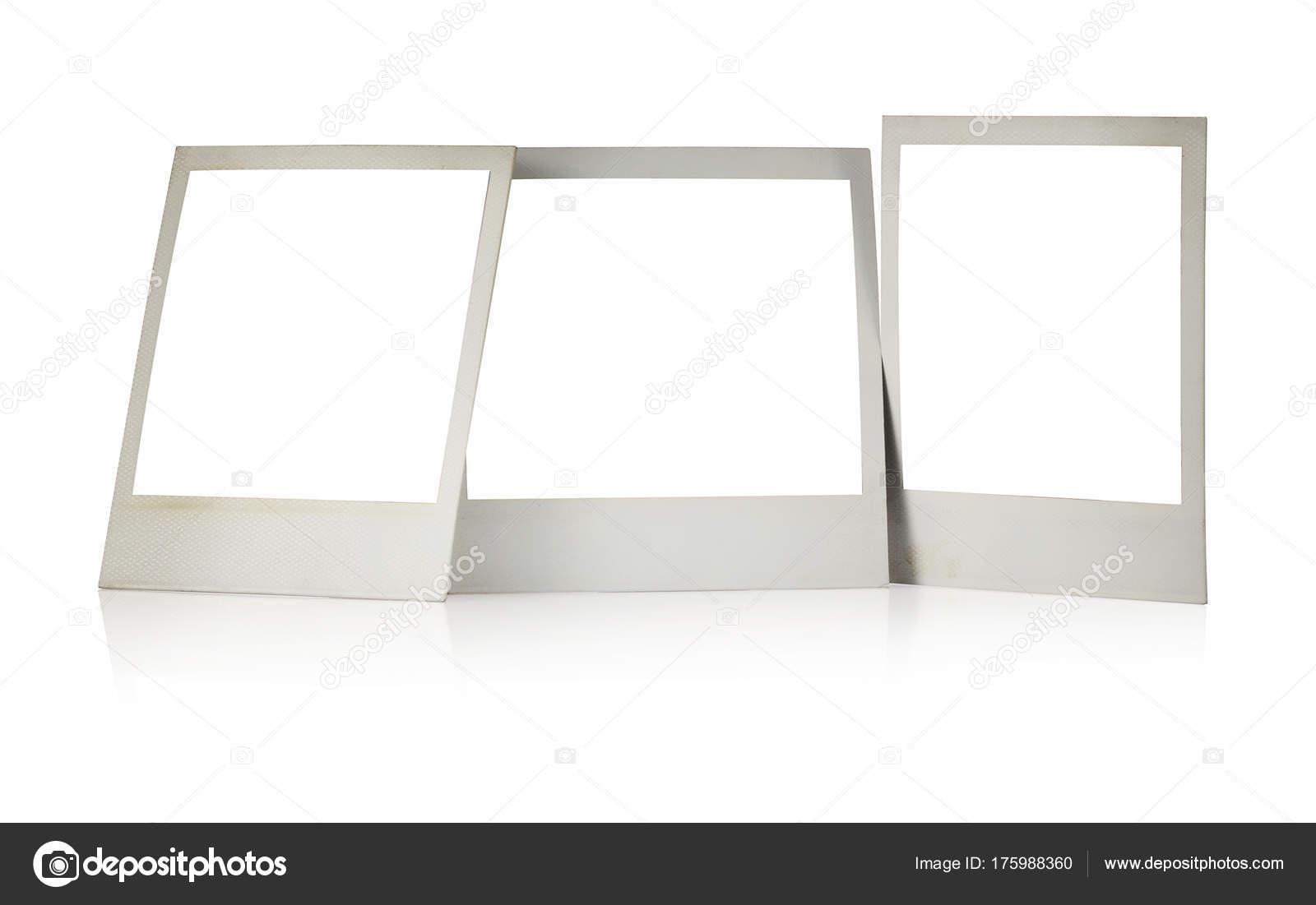 Set of Polaroid frames — Stock Photo © PHOTOLOGY1971 #175988360
