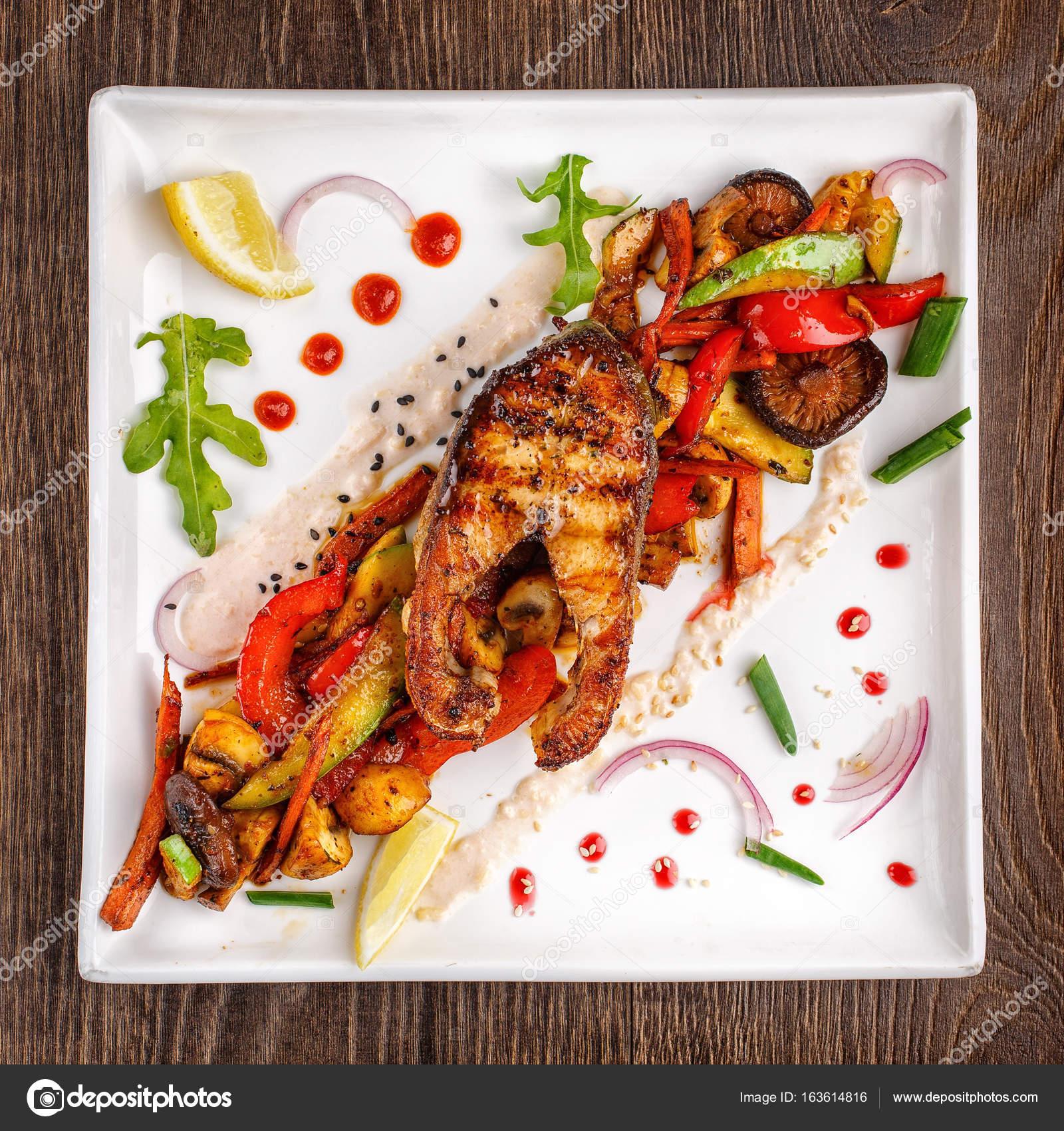 Restaurant Food Grilled Food Grilled Vegetables Grilled