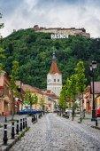 Rasnov, Romania. City in Transylvania