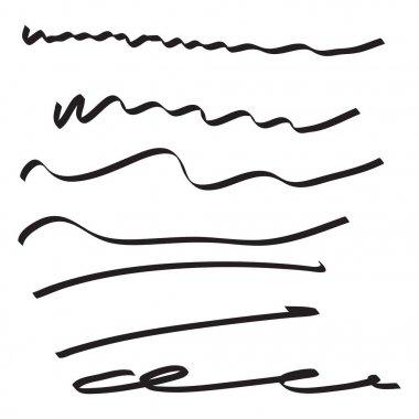 Vector set of hand drawn.