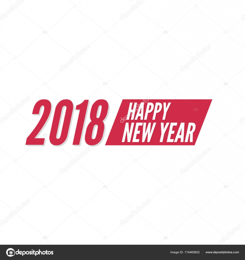 happy new year 2018 theme for greeting card flyer invitation poster brochure banner calendar christmas meeting events vector vector by sumkinn