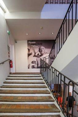 Pablo Picasso Museum located in the Chateau Grimaldi