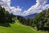 Fotografie Wamberg Chapel near Garmisch Partenkirchen