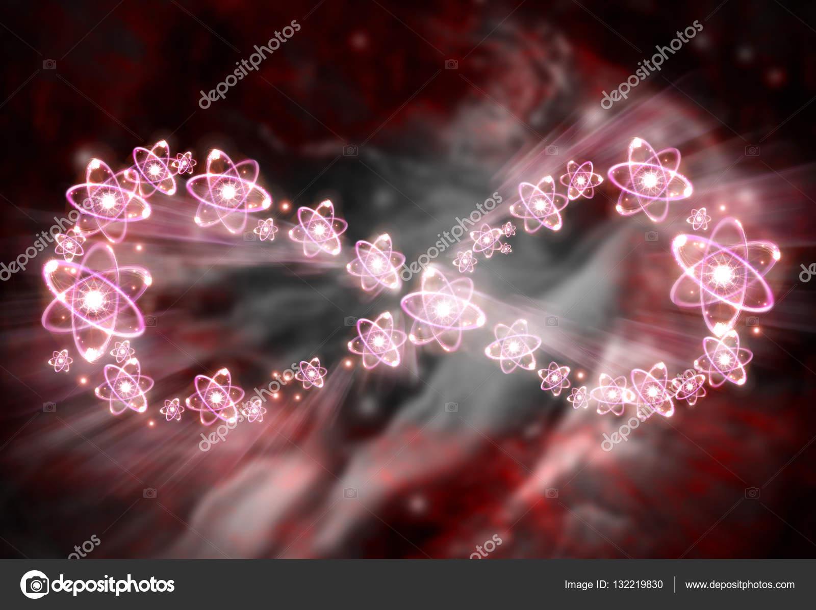 Atom Infinity Symbol Stock Photo Ezumeimages 132219830