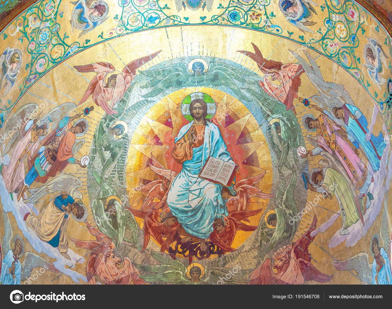 Zafer Sanatçı Karlamof Mesih Isa Nın Diriliş Petersburg Katedral