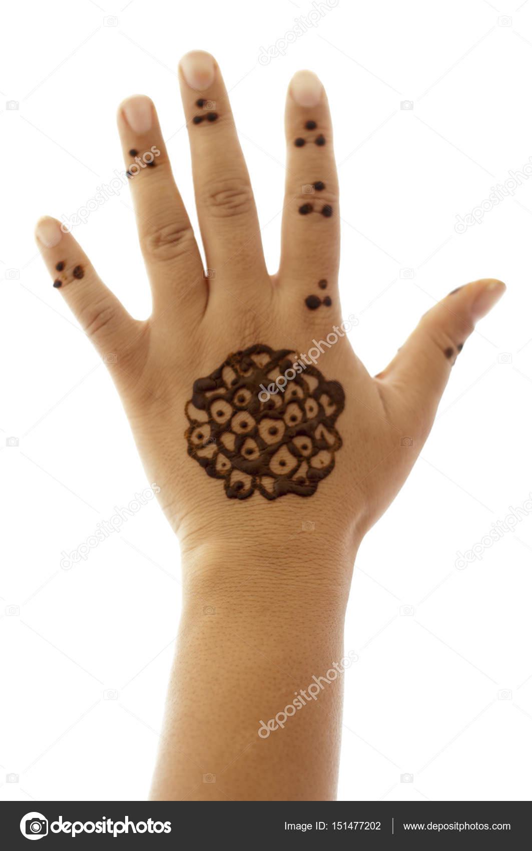 Plantillas De Tatuajes De Henna Para Manos Manos De La Mujer Con