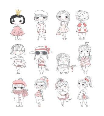 stylish fashion girls