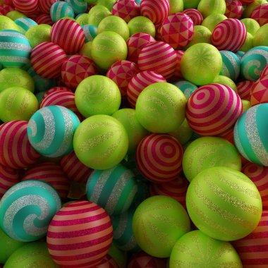 Mixed Christmas  balls