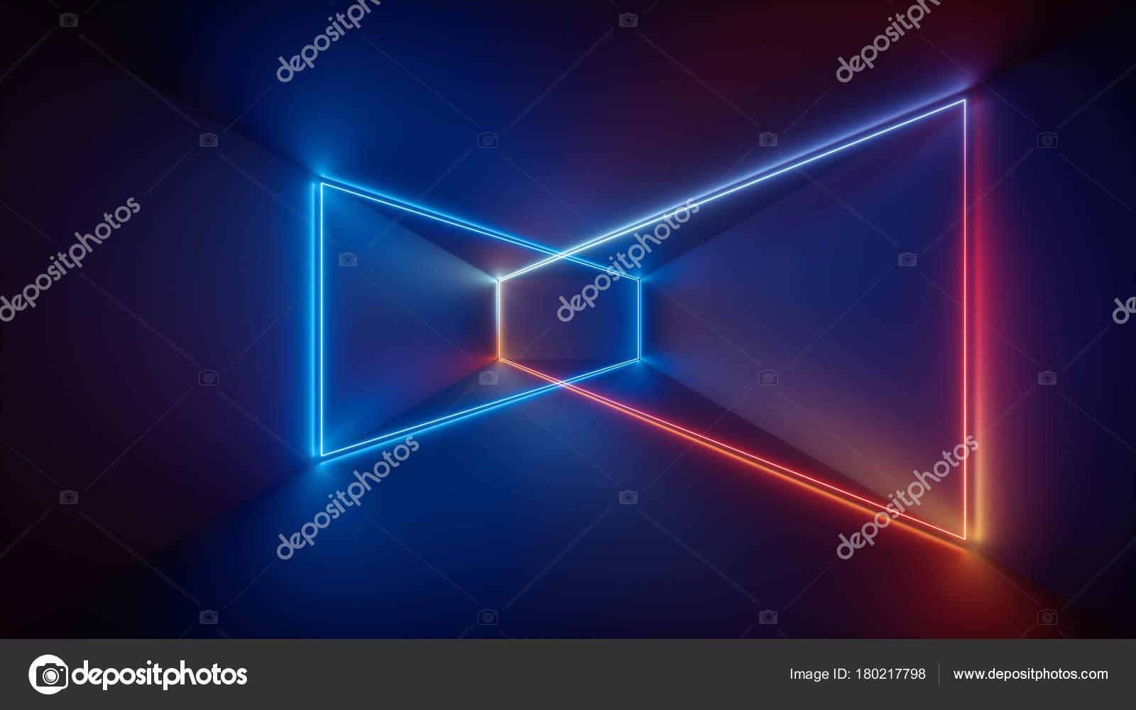 Render 3d l ser show luces interiores del club de noche for Luces interiores