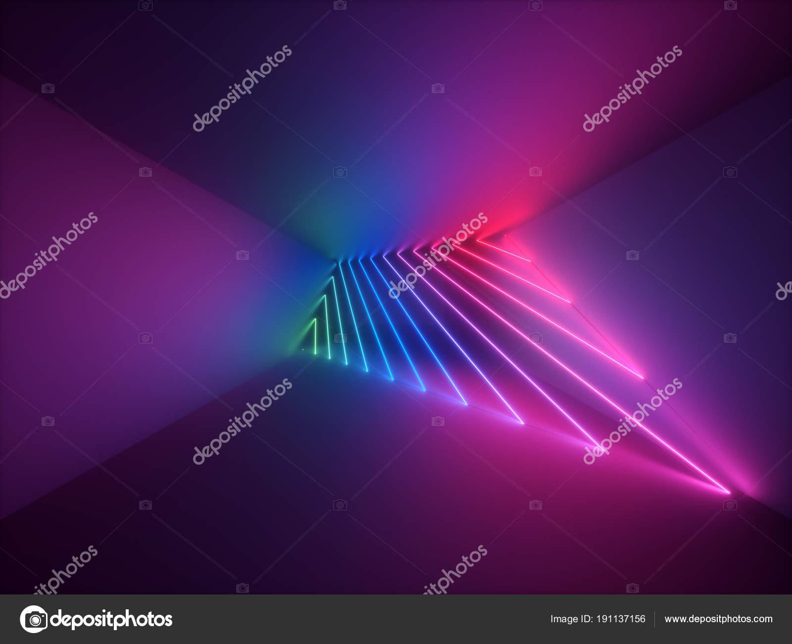 3d render moderne abstracte geometrische achtergrond