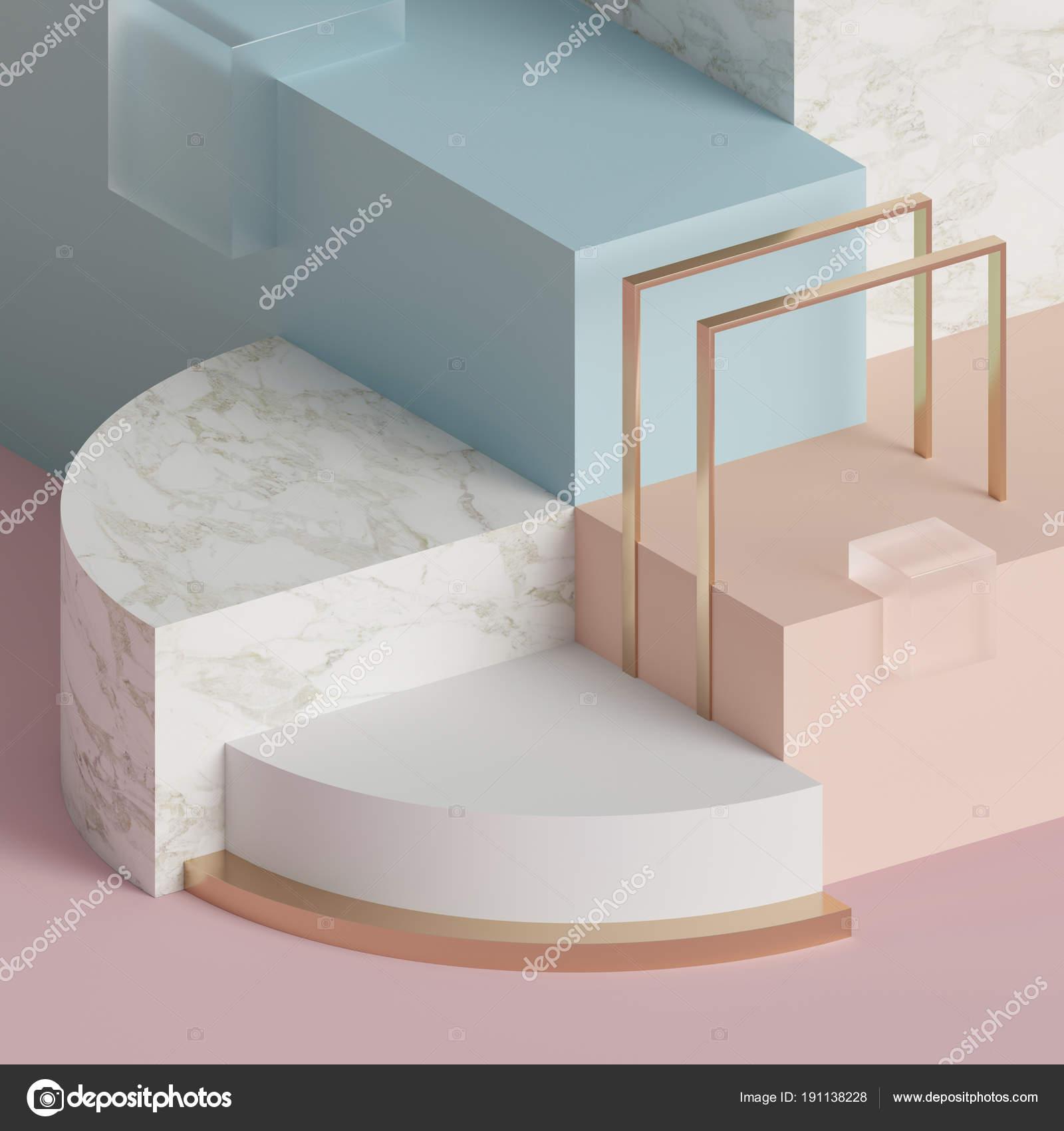 representación 3D, moderno mock up, Resumen de antecedentes ...