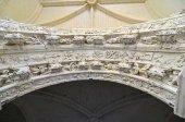 Highly sculptured renaissance arch