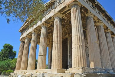 The well preserved Temple of Hephaestus