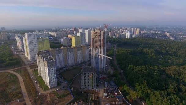 Výstavba nové obytné čtvrti