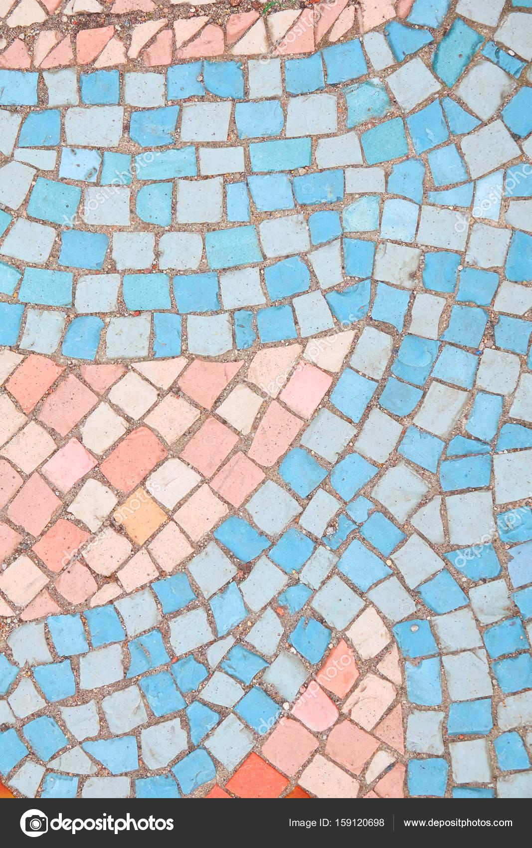 Schone Hintergrund Der Bunten Fliesen Mosaik Gefliest In Pas