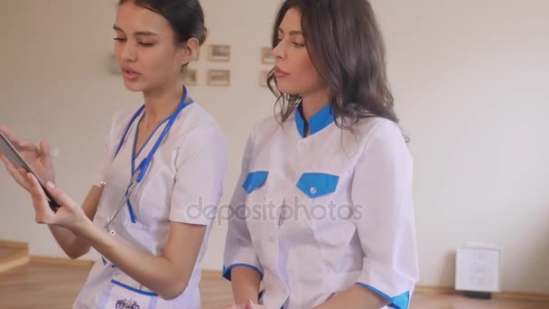 Two beautiful young doctors
