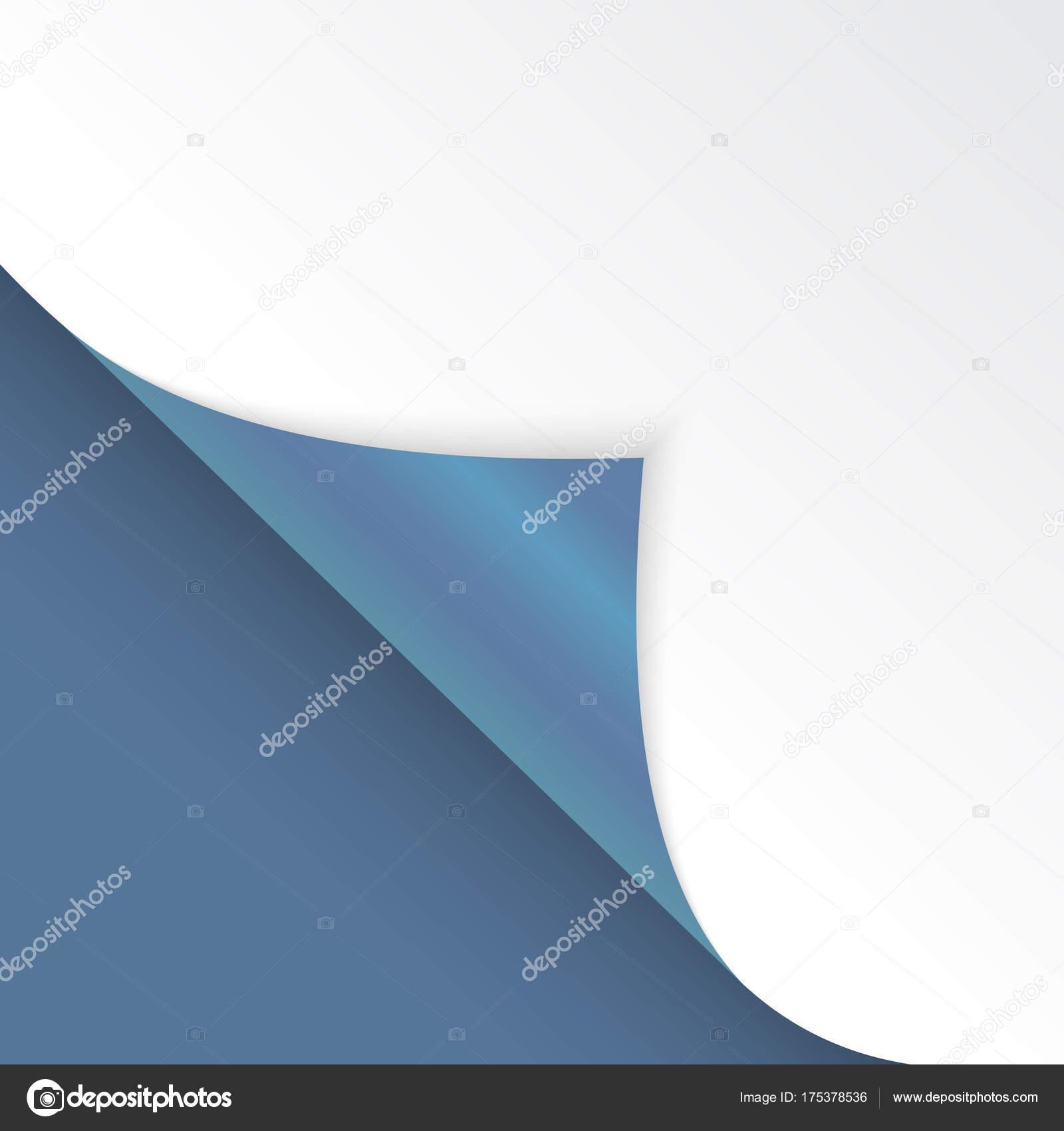 Forma de ángulo doblado es libre para llenar de color azul ...
