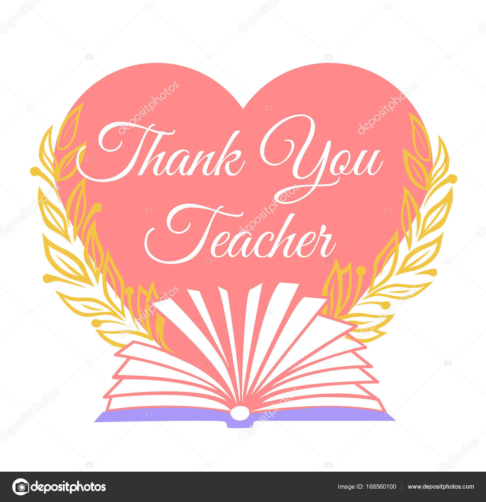 Greeting card thank you teacher stock vector rodnikovay1 168560100 greeting card thank you teacher stock vector m4hsunfo