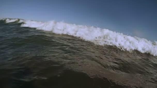 wave splash slow motion