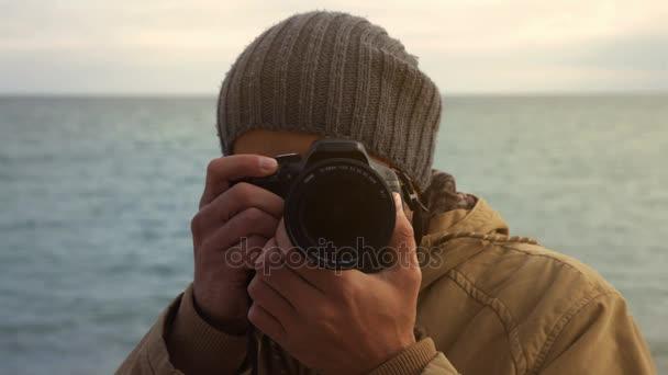 mužské fotograf zastřelení