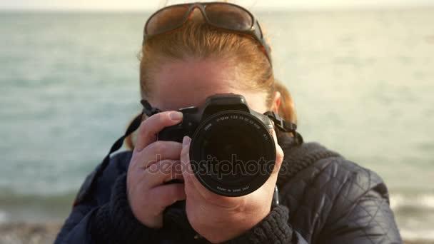 Fotografin beim Shooting