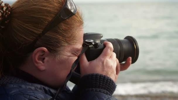 ženské fotograf fotografování krajiny