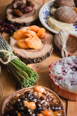 composition of the traditional winter ingredients