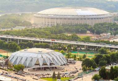 Reconstruction of Luzhniki Stadium and Druzhba Multipurpose Arena for soccer world cup 2018