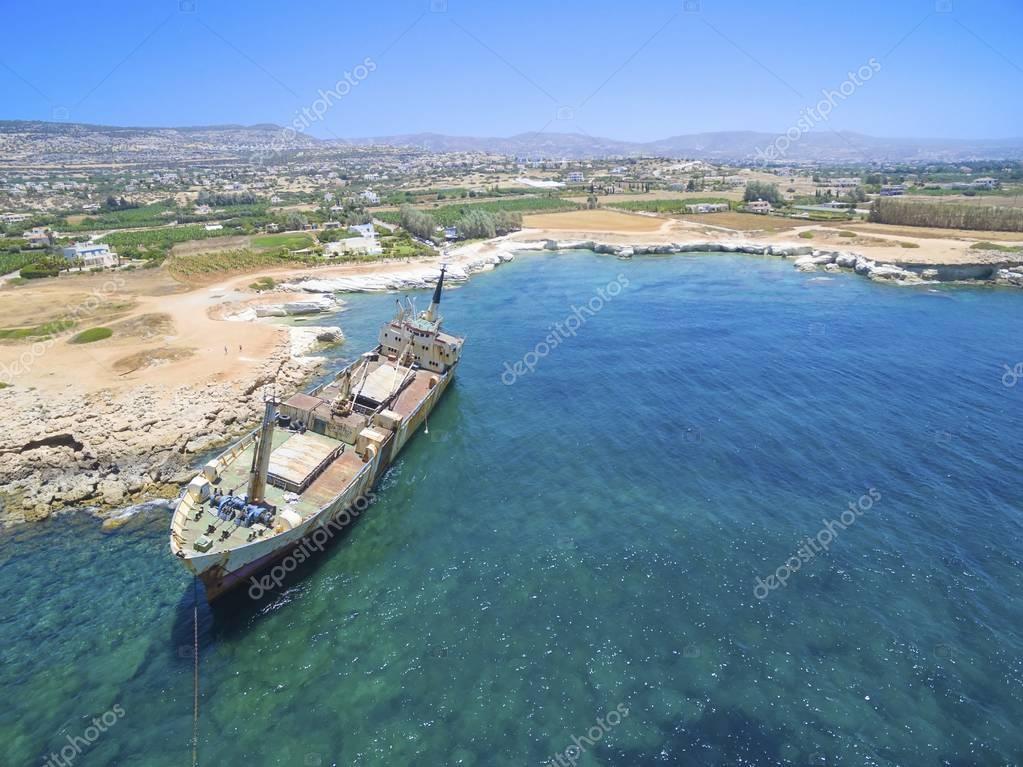 Shipwreck EDRO III, Pegeia, Paphos
