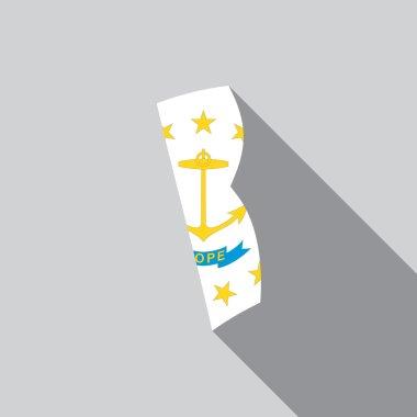 United States Illustration of Rhode Island